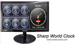 دانلود-Sharp-World-Clock