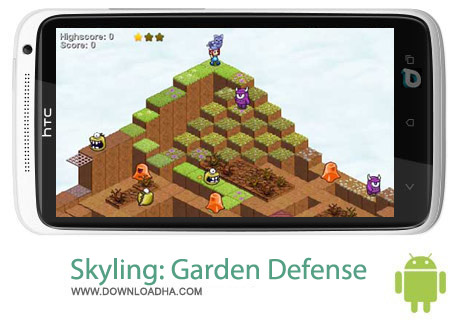 Skyling Garden Defense v1 بازی دفاعی Skyling: Garden Defense v1.0.19 – اندروید