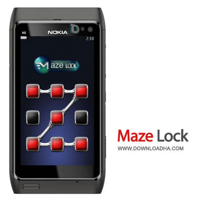 mez آنلاک کردن گوشی سیمبین شما به سبک گوشیهای اندرویدی با MMMOOO Mazelock سیمبین Belle, Anna, S^3