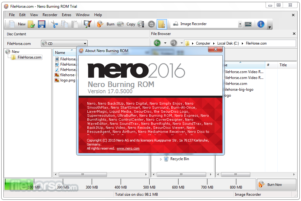 Nero burning rom 2017 15 0 02700 with patch activator karanpc